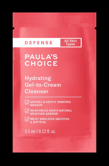 Defense Hydrating Gel-to-Cream Cleanser Sample