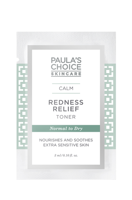 Calm Redness Relief Toner normal to dry skin Sample