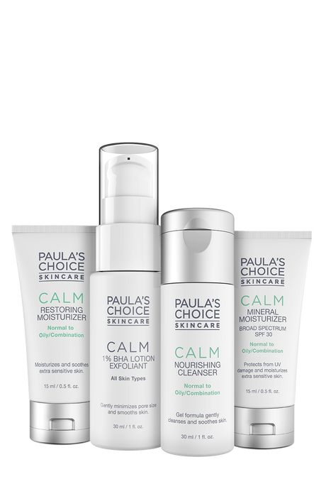 Calm Combination to Oily Skin Travel kit