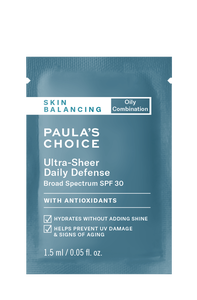 Skin Balancing Ultra-Sheer Daily Defense SPF 30 Sample