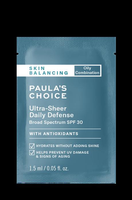 Skin Balancing Ultra-Sheer Daily Defense SPF 30 Sample