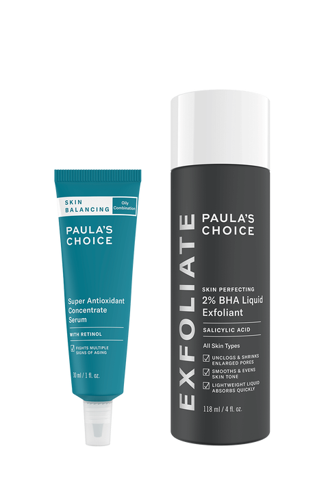 Power Duo Balance skin + Reduce breakouts