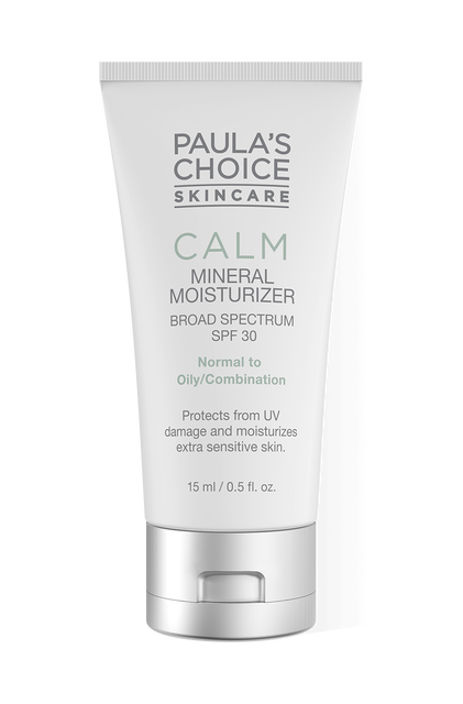 Calm Mineral Moisturizer Broad Spectrum SPF 30 Travel size