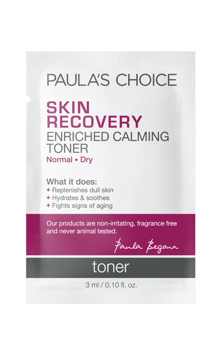 Skin Recovery Enriched Calming Toner Sample