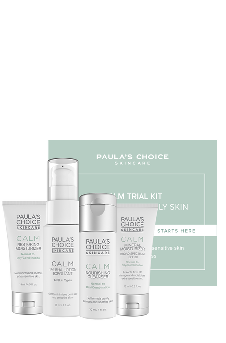 Calm Kit Combination to Oily skin Trialkit