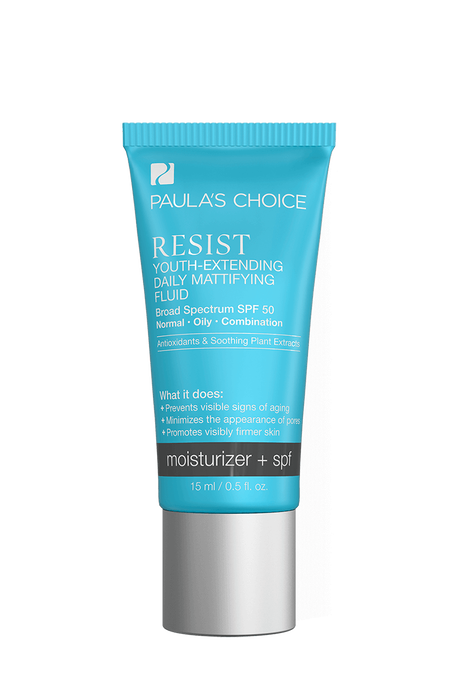 Resist Anti-Aging Youth-Extending Daily Hydrating Fluid broad spectrum SPF 50 Trial Size