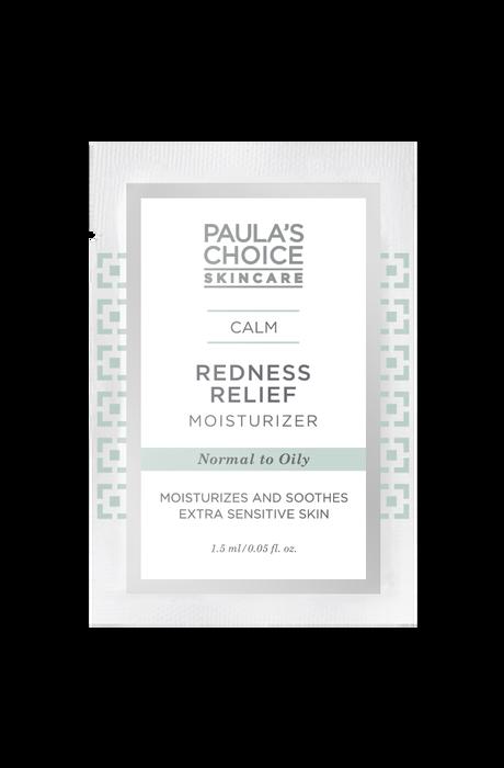 Calm Redness Relief Moisturizer normal to oily skin Sample