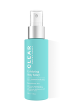 Clear Exfoliating Body Spray BHA