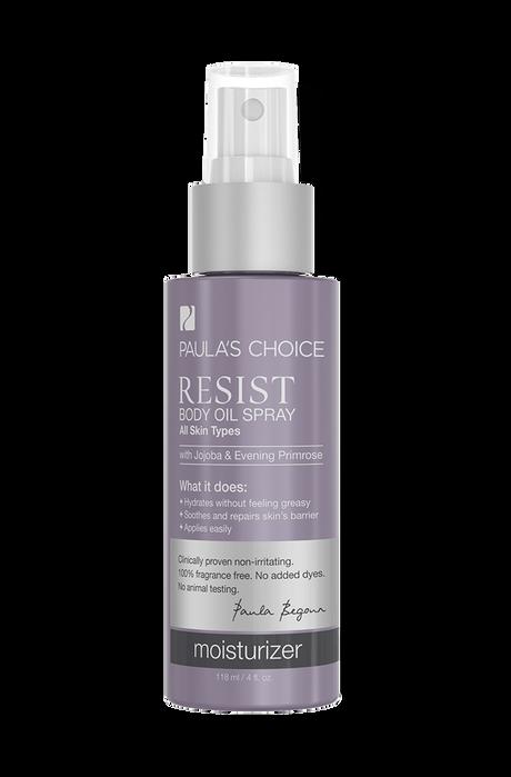 Resist Anti-Aging Body Oil Spray