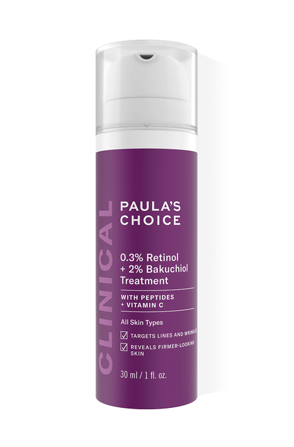 Clinical 0.3% Retinol + 2% Bakuchiol Treatment Full Size