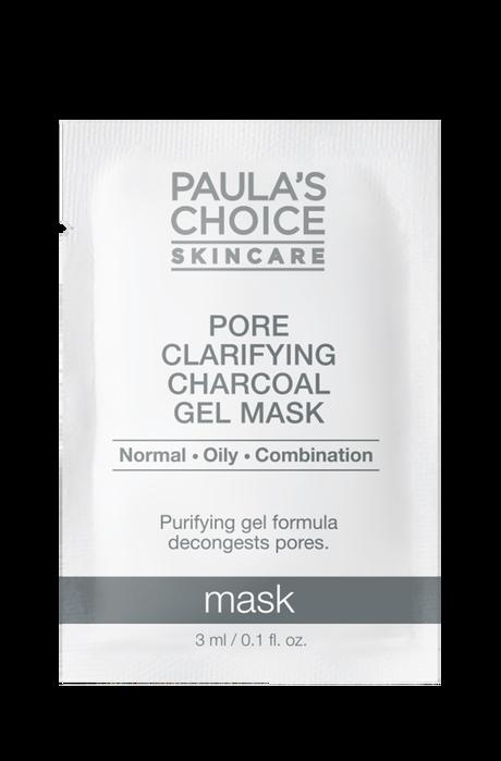 Pore Clarifying Charcoal Gel Mask Sample