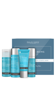 Resist Anti-Aging Travel Kit Combination Oily