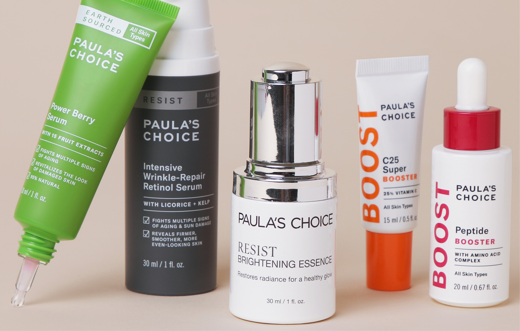 Boosters, serums, essences and treatments: what is the difference?